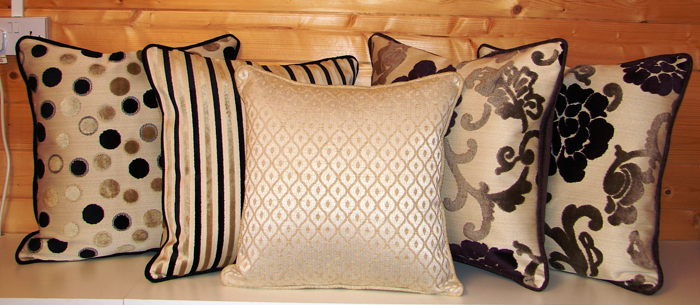 Scatter cushions by Couture Windows