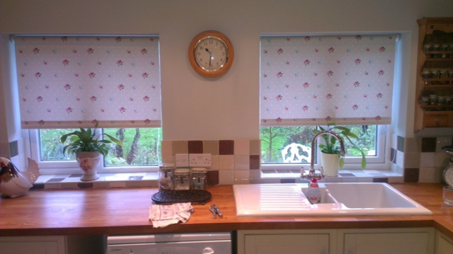 Roller blinds by Couture Windows