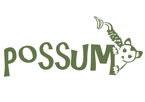 Brand Possum web and print design